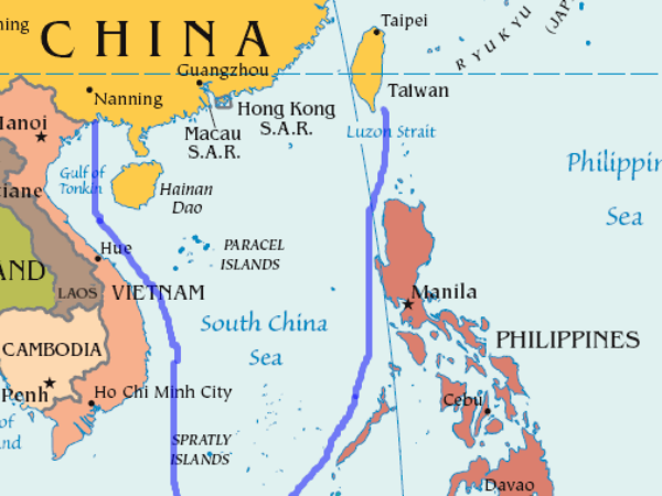 the historical background of the south china sea conflict between china and the united states