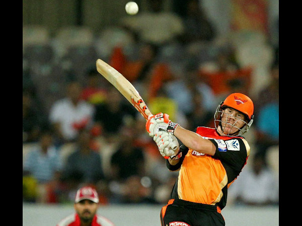 SRH depend heavily on their captain David Warner