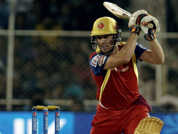 RCB will hope for another big knock from AB de Villiers