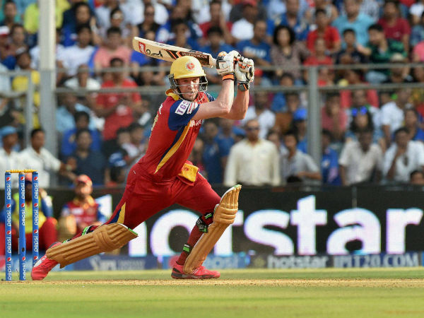 AB de Villiers was out for just 10