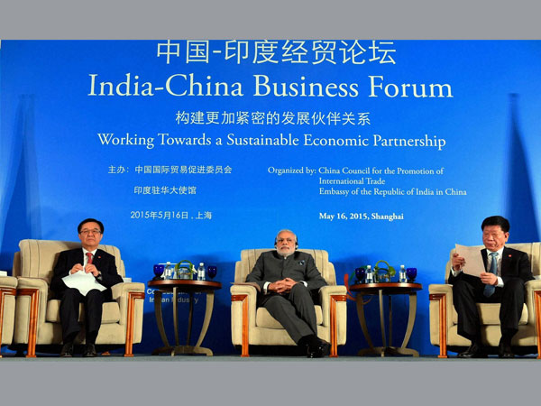 Modi meets top Chinese CEOs