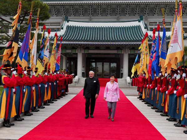 Modi Korea Tour