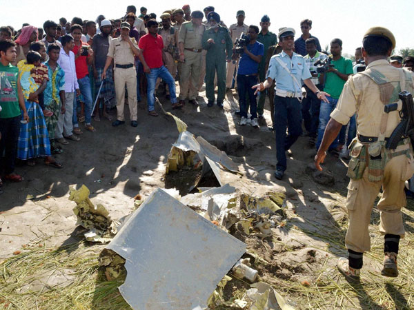 Fighter aircraft crashes in Assam