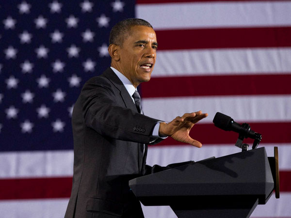Climate change top US priority: Obama