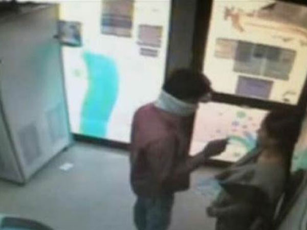 Techie robbed in ATM; Video released
