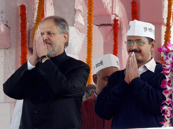 Centre supports Najeeb Jung
