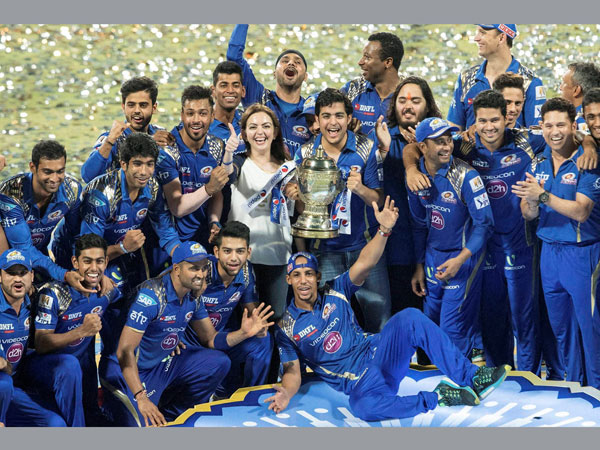 Mumbai Indians lift IPL trophy for the second time