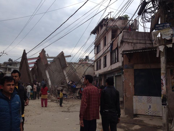 Aftershocks continue to shake Nepal