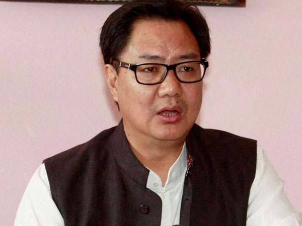 Rijiju hits back at Naqvi's comment