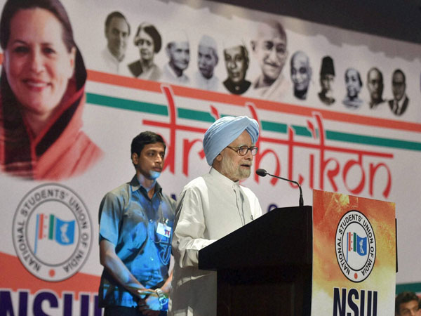 Never used office to enrich myself, family or friends: Manmohan Singh