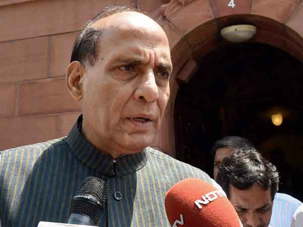 Open for dialogue with anyone, within constitutional framework: Rajnath.