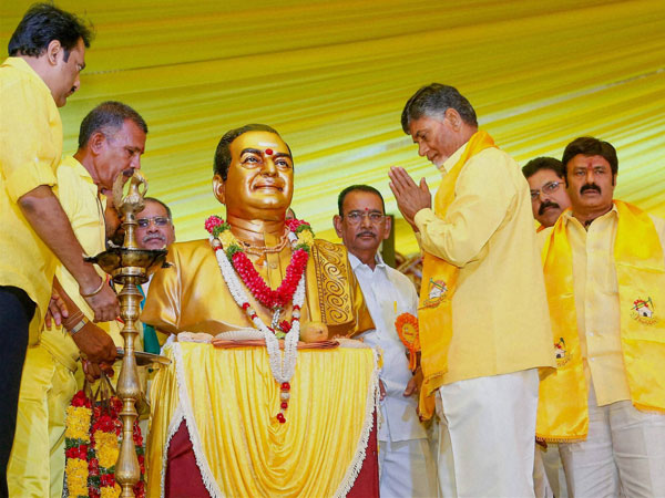 TDP demands Bharat Ratna for NTR.