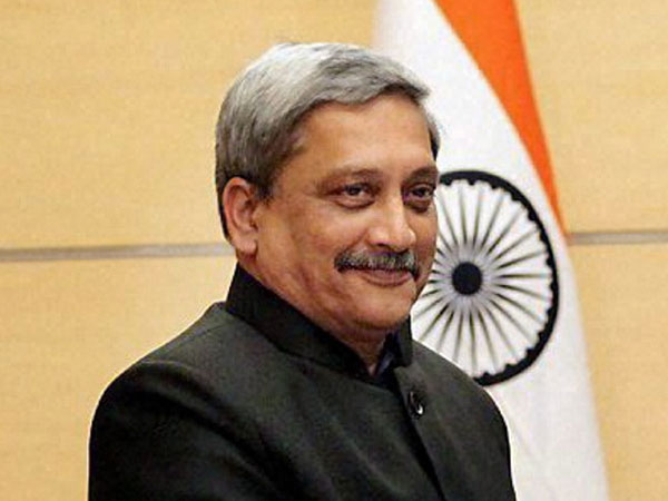 File photo of Goa CM Manohar Parrikar