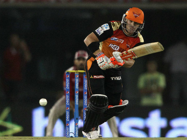 David Warner is leading the SRH from the front.