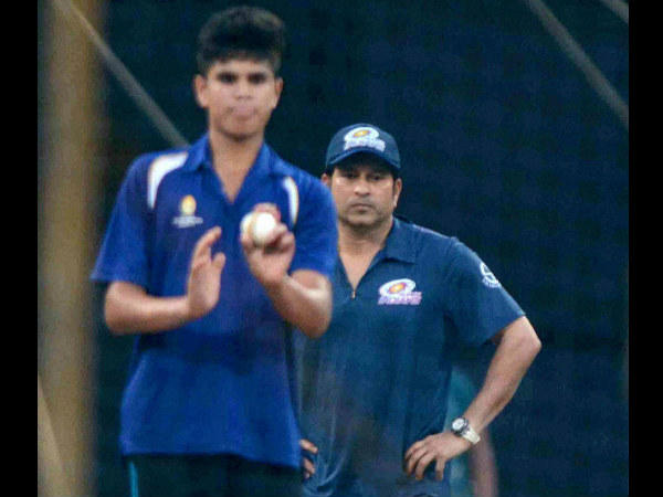 Arjun Tendulkar sends England's Jonny Bairstow hobbling out of nets at Lord's