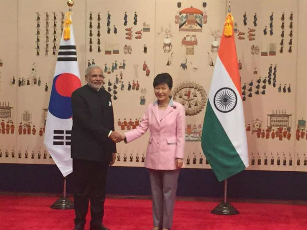 India, South Korea ink 7 agreements