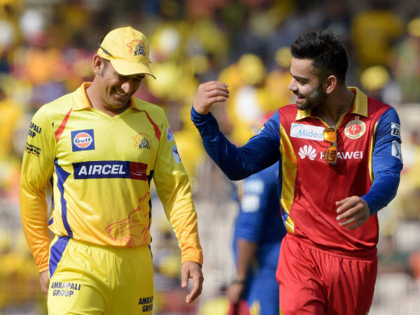 Test of captaincy for Dhoni (left) and Kohli