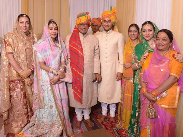 Jaivardhan Singh- Sreejamya Shahi's wedding & reception pics