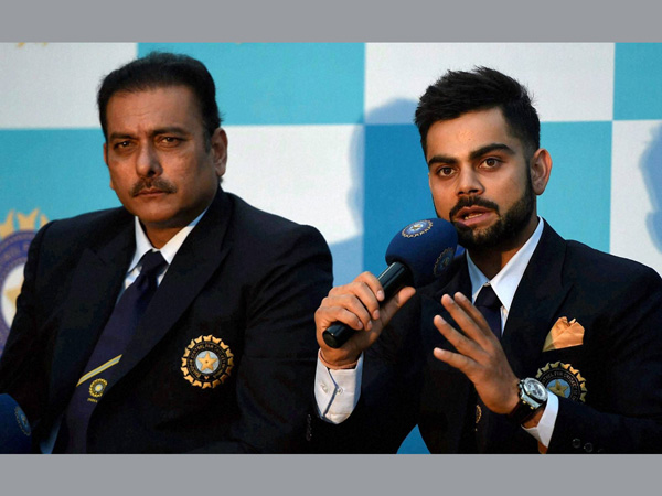 File photo: Shastri and Kohli