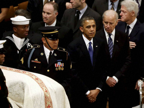 Obama Gives Touching Speech At Funeral Of Biden S Son Oneindia News