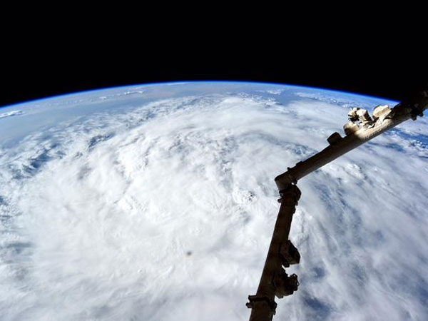 Pic from Space: Cyclone Storm Over Mumbai