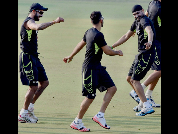 Harbhajan Singh (right) has made a comeback to Test team