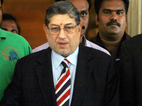 Srinivasan - Out of BCCI but still going strong in TNCA