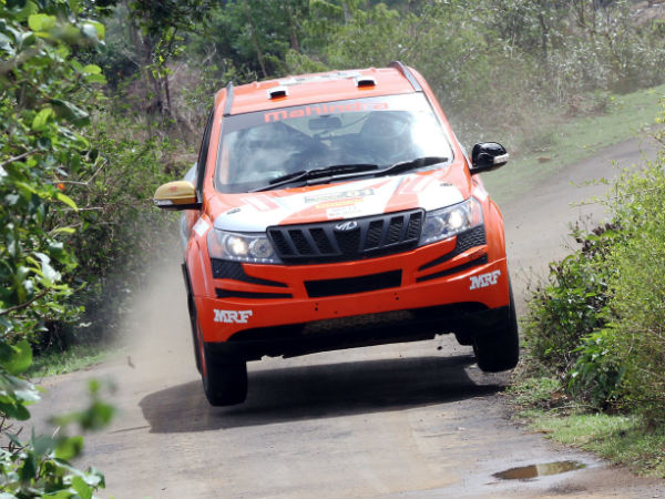 File photo: Gaurav Gill and Musa Sherif in action at Rally of Maharashtra. They won the season opener in Nashik