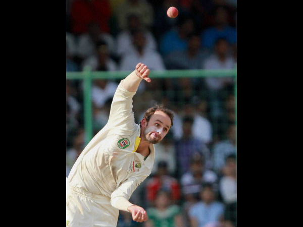 File photo of Nathan Lyon