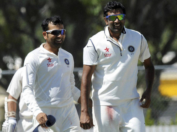 5 wickets for Ashwin (right)