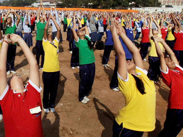 10 lakh cadets to perform on Yoga Day