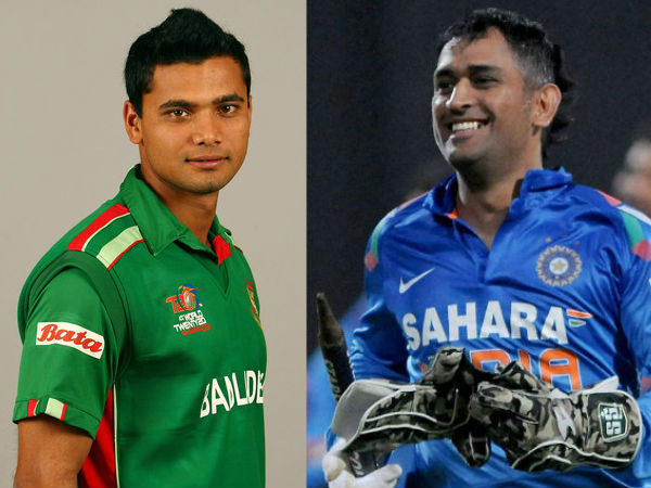 Mashrafe Mortaza does a Ganguly, 'makes' MS Dhoni wait at trophy unveiling event: Report