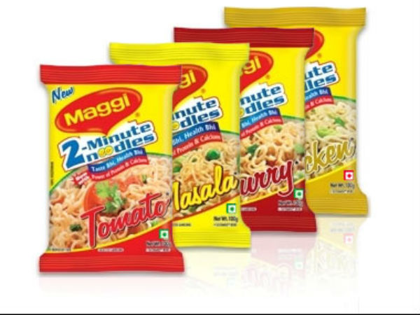 Maggi noodles used as fuel!