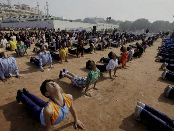 People gear up for Yoga Day celebrations