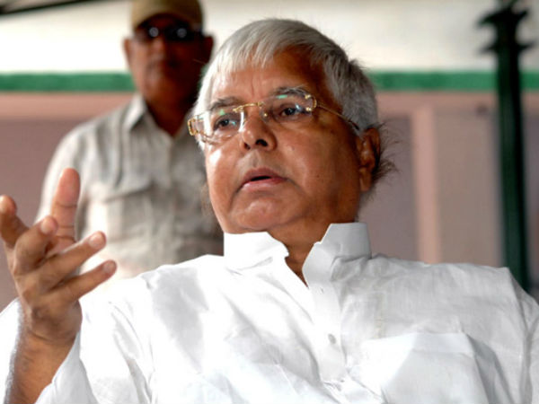 Twitter war over Lalu's dig at PM Modi