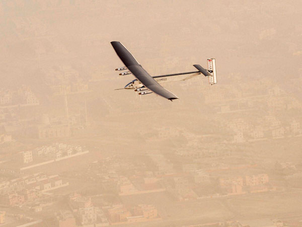 Solar Impulse Japan take off cancelled