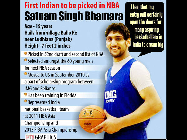 We are all proud of Satnam Singh, says Sachin Tendulkar