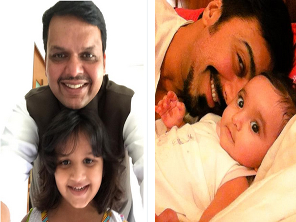 Selfie with daughter, pics shared on Twitter