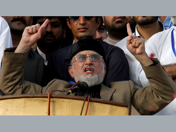 Cleric Qadri back in Pak