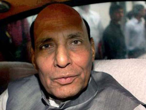 Rajnath in J&K for a two-day visit