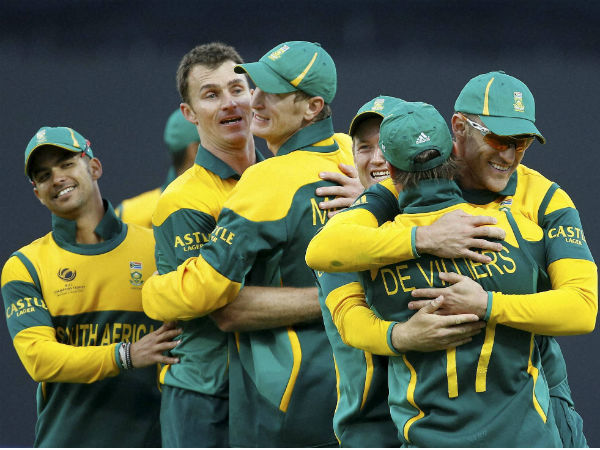 File photo of South African team