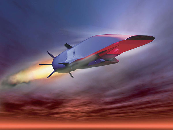 Hypersonic Jet: Representational Image
