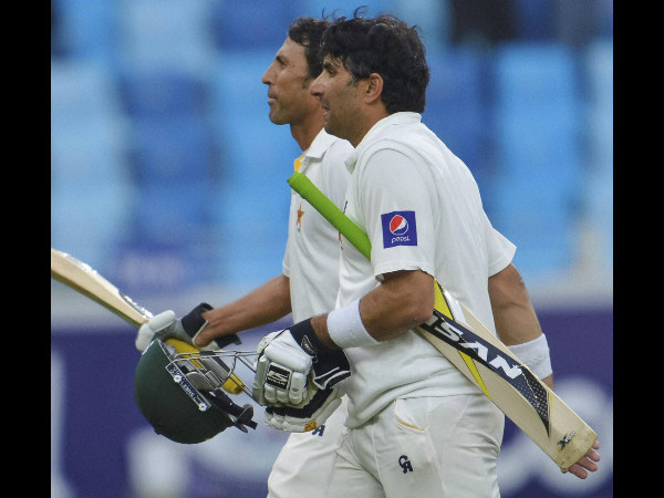 Younis (left) and Misbah