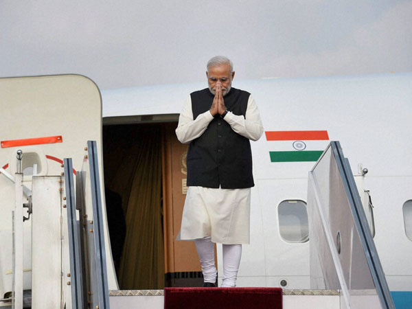 Modi arrives in Astana