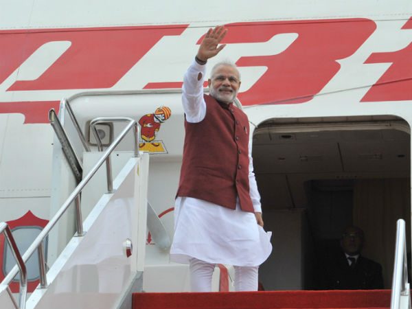 PM Modi leaves for Ufa