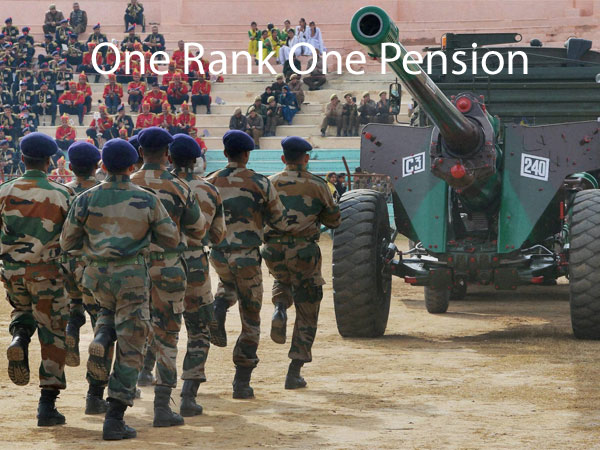 OROP protest continues as government gives fresh assurance.