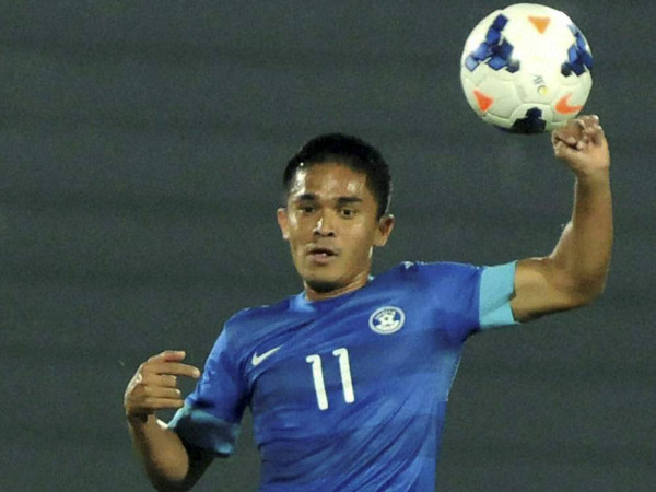 Sunil Chhetri was the biggest gainer at the player auction
