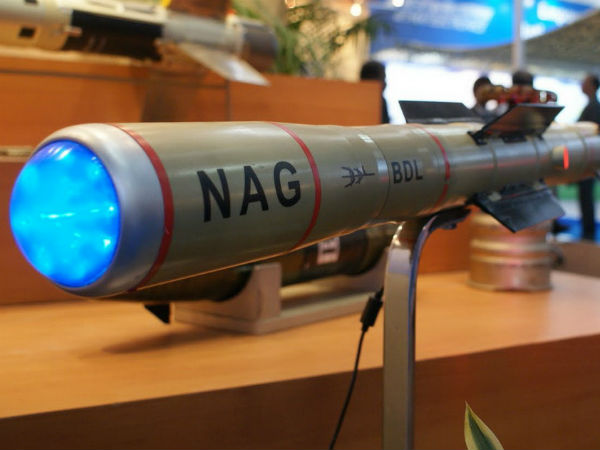 Anti-Tank missile Nag tested