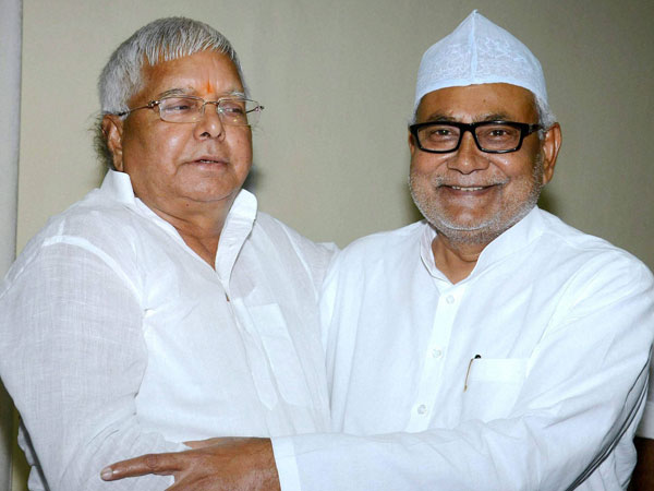 Lalu-Nitish gel well at Iftar