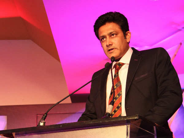 A file picture of Anil Kumble